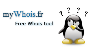 myWhois.fr : Free Whois tool